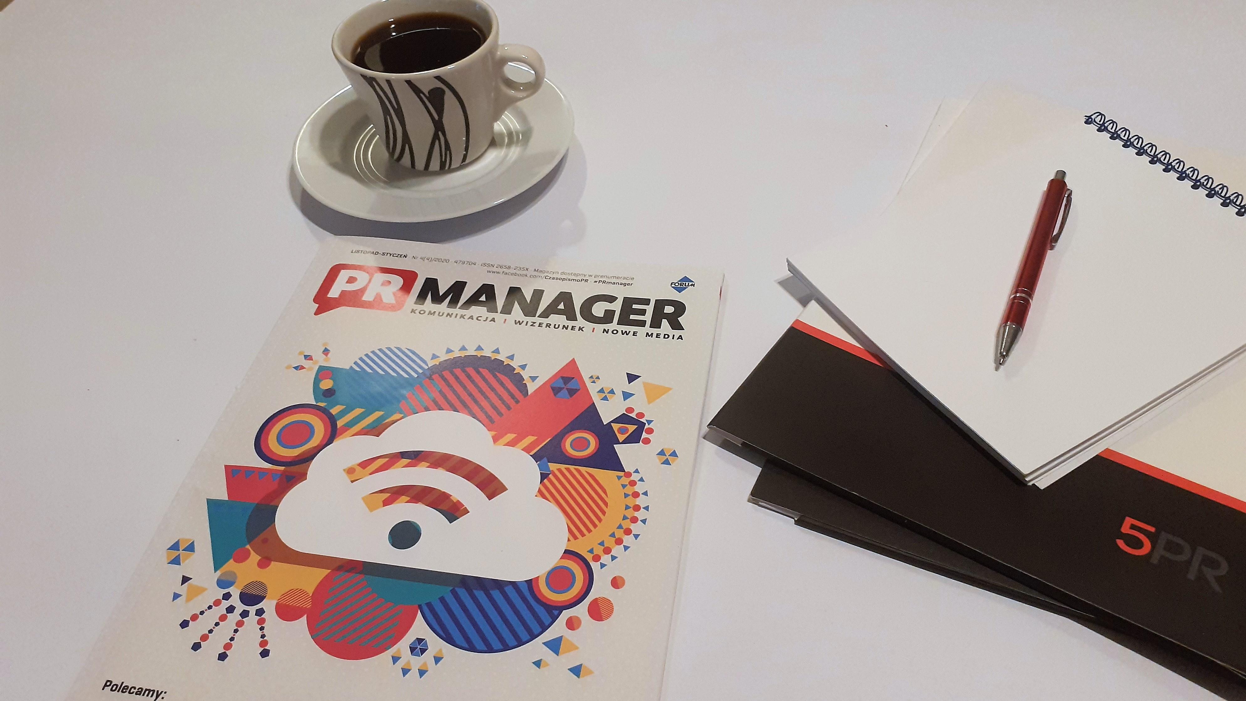 czasopismo pr manager